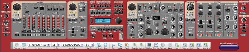 Nord Stage 2 Patch Editor
